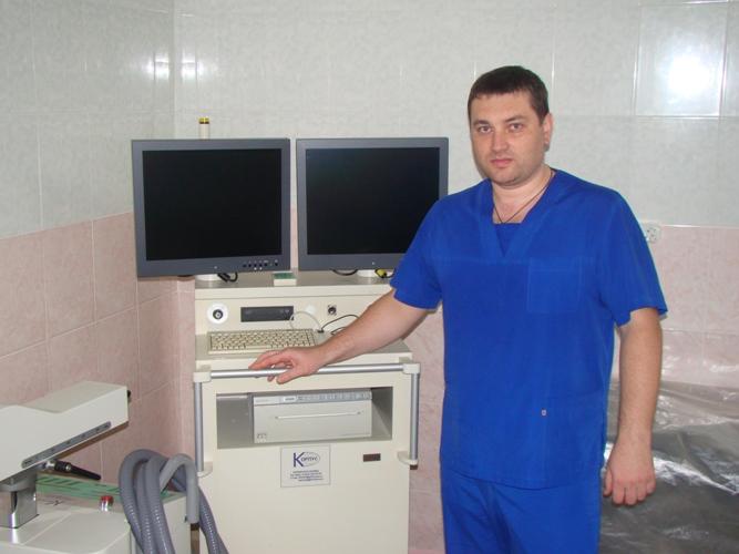 Роман Попов, Спасская городская больница