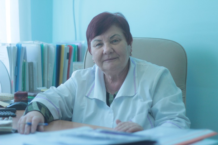 Анна Бурахович, Ирина Завылова, Черниговская ЦРБ