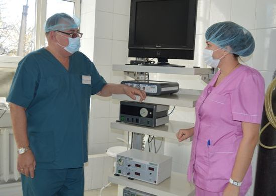 Партизанская городская больница №1, ранение сердца, хирургия