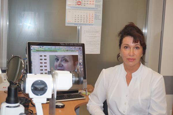 Владлена Лузьянина, Приморский центр микрохирургии глаза