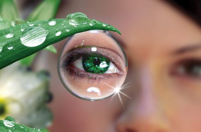 Форма глазного яблока при близорукости и дальнозоркости