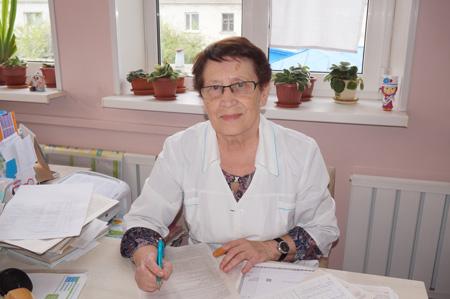 Антонина Ченина, Владивостокская детская поликлиника №2