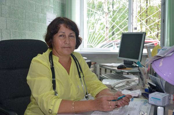 Владивостокская детская поликлиника №6, Любовь Михалева