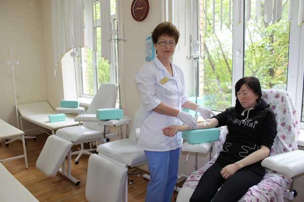 Владивостокский клинический родильный дом №3, Марина Михайлова